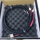 DH Labs Silver Sonic  Q-10 (BFA Banana)  6ft/1.8m piar  Speaker Cables