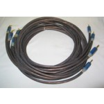 Tara Labs  RSC Air 3 (BSM Spades to BSM Bananas)  10ft/3m pair  Speaker cables