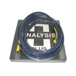 Analysis Plus  Black Mesh Bi-Oval 9 Biwire (Spades)  10ft/3m pair  Speaker cables