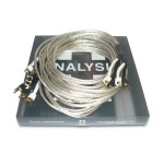 Analysis Plus  Bi-Silver Oval 2 Biwire (Spades)  10ft/3m pair  Speaker cables