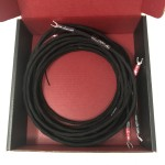 Synergistic Research  Foundation (Spade)  8ft/2.5m pair  Speaker cables