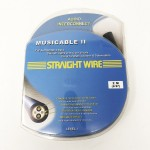 Straight Wire  Musicable II (XLR)  6.5ft/2m pair  Interconnect cables