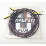 Analysis Plus  Black Oval 12 (Bananas)  10ft/3m pair  Speaker cables