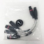 Synergistic Research  XLR Y Adapter (1Male to 2Female)  10inch pair  Interconnect cables