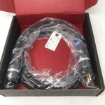 Synergistic Research  Blue 10 gauge HC (Schuko/Euro Wall Plug)  9ft/2.7m  Power cables
