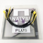 Analysis Plus  Oval 9 Jumper - Banana to Spade (Set of 4)  12 inch (Set of 4)  Speaker cables