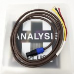 Analysis Plus  REL Subwoofer Cable (Speakon to Spades)  10ft/3m  Subwoofer cables