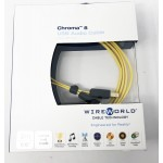 Wireworld Cable Technology  Chroma 8 USB (Type A to B)  6.5ft/2m  Digital Cables