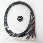 Synergistic Research  Speaker Jumper (Bananas to Spades)  32 inch  Speaker cables