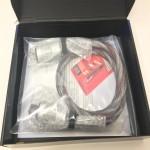 Audience  AU24 SX HP PowerChord - 10 gauge  5ft/1.5m  Power cables