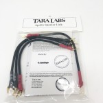 Tara Labs  Apollo Speaker Links (Set of 4) Jumpers (Spades)  8 inch  Speaker cables