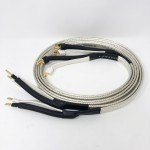 Analysis Plus  Big Silver Oval (Bananas to Spades)  6ft/1.8mpair  Speaker cables