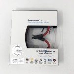 Wireworld Cable Technology  Supernova 7 Toslink to 3.5mm Optical  1.5ft/0.5m  Digital Cables